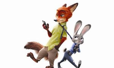 疯狂动物城兔子拿萝卜图片