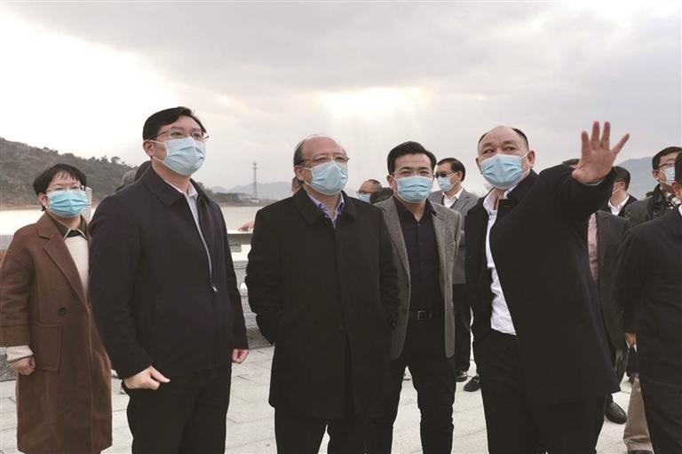 中共台州市路桥区第六届代表大会第五次会议开幕