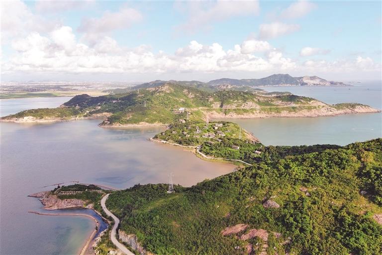 黄礁岛美景如画